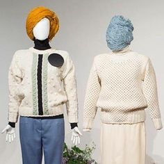 'Exploring Inspirations' by Sanne Jansen at KC Grad Belgrade - knitwear from Sirogojno