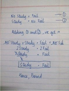 STUDENT'S LIFE...: Notebook's last page..