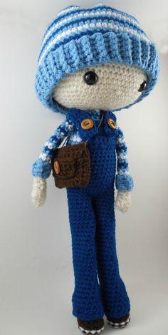 Oscar  Amigurumi Doll Crochet Pattern PDF by CarmenRent on Etsy