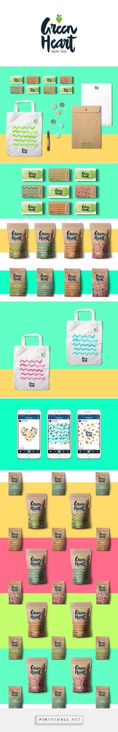 Green Heart Branding by Elemasele on Behance | Fivestar Branding – Design and Branding Agency & Inspiration Gallery