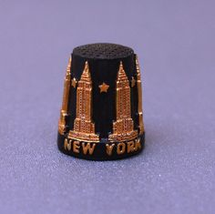 NEW YORK CITY EMPIRE STATE BUILDING 3D SCULPTURED THIMBLE COLLECTIBLE BRAND NEW