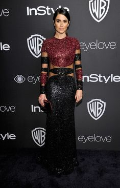 Nikki Reed in Naeem Khan - The Most Gorgeous After Party Looks from the 2017 Golden Globes - Photos