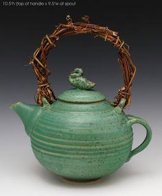 Duck Teapot 43: Ron Mello: Ceramic Teapot | Artful Home