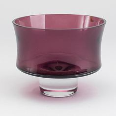TAPIO WIRKKALA - Glass bowl 3588 for Iittala 1959, Finland.