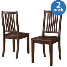Whalen Homestead Dining Chair, Set of 2, Espresso