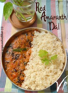 Hello Friends, today I am sharing a simple and delicious recipe - RED AMARANTH DAL. When you want to cook something very simple, healthy, and also with minimum ingredients then I would definitely suggest this recipe. Lentil Dishes, Dal Recipe, Green Chilli, Curry Leaves, Pressure Cooking, Lentils, Paradise, Veggies, Yummy Food