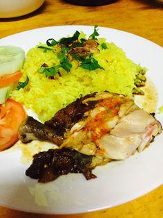 Resipi Nasi Ayam Kuning Noxxa