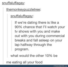 funny tumblr posts fine with me... that's what LOVE Is.