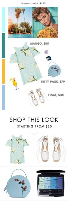 """Beach cocktail party"" by olesyabond ❤ liked on Polyvore featuring MANGO, Christian Dior, The Gypsy Shrine and vintage"