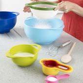 Joseph Joseph mixing bowls would make pancake day especially colourful.
