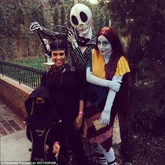 'Disney magic': On Tuesday Kourtney Kardashian shared multiple photos from the 'happiest p...