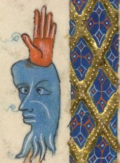 Detail from The Luttrell Psalter, British Library Add MS 42130 (medieval manuscript,1325-1340), f71v