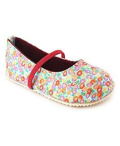 Nena Belly Shoes With Floral Print - Multicolor http://www.firstcry.com/nena/nena-belly-shoes-with-floral-print-multicolor/733011/product-detail