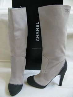 Chanel boots... always make me think of that scene in The Devil Wears Prada!