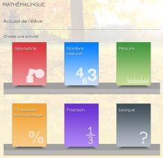 Le site Mathémalingue offre des exercices favorisant la compréhension du langage mathématique chez les élèves. Il a été développé par des personnes-ressources en déficience auditive. Plusieurs sect…