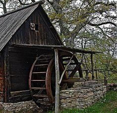 Old Water-mill - Alte Wassermühle