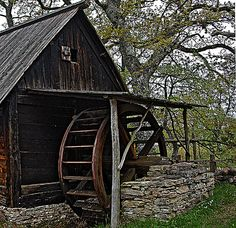 Old Water-mill -