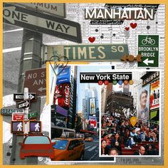 This is a layout I created for SG CREATE Magazine using the New York collection from Paper House. Travel Scrapbook Pages, Vacation Scrapbook, Scrapbook Albums, New York Scrapbooking, Scrapbooking Layouts, Digital Scrapbooking, Scrapbook Designs, Valentine Day Love, Road Trip Usa