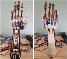 Figure 2. Roy robotic arm.