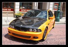 Fast & Furious BMW. My friend works on this car in his garage sometimes. It's pretty rad...