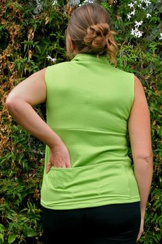 Pockets added to Jalie 2682 top