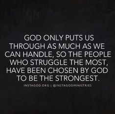 God strength quotes