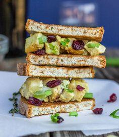 Curry Chicken Salad Sandwiches