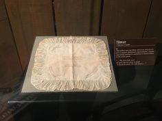 """This pillowcase is an example of Items made by anti-slavery women """"hands"""". #freedomcenter"""