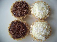 tortinha chocolate e coco