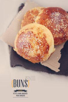 Petits pains briochés pour burger | Aline :) yummy