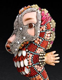 Rocky Beadwork by Betsy Youngquist by betsyyoungquist on Etsy, $2800.00