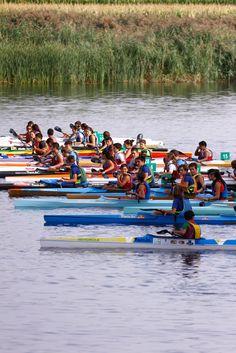 ¡Zamora es piragüismo! El Duero es un entorno ideal para la práctica de este deporte. Foto: Javier de la Fuente