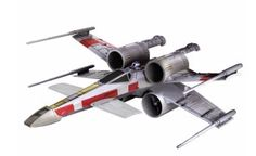 This X-Wing fighter by Airhogs is armed with four laser cannons and two proton torpedo launchers to take on anything that Empire throws at it. #searscanada #starwars