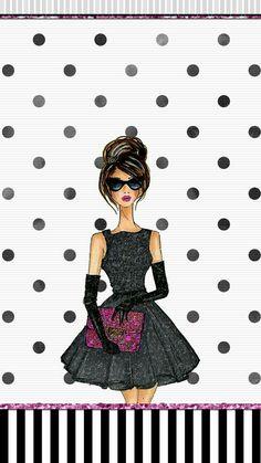 Fashion girl wallpaper iphone