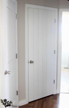 DIY Plank Door