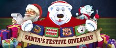 Join Santa's Festive Giveaway at Cherry Casino