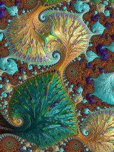 Leafy Digital Art by Amanda Moore