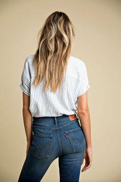 Vintage-Jeans im Wedge-Fit   COUCH – DAS ERSTE WOHN & FASHION MAGAZIN