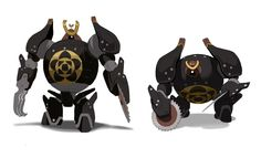 yama's robot from big hero 6 ★ Find more at http://www.pinterest.com/competing