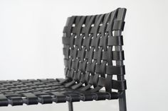 Bar Stool - Low Woven Back by Mark Albrecht