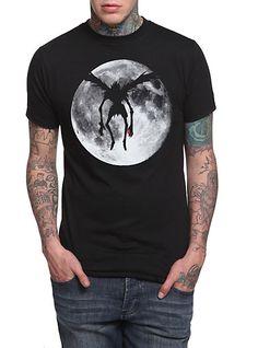 Death Note Ryuk Moon T-Shirt   Hot Topic