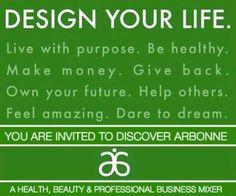Arbonne independent consultant  Become one today and change your life :)   allyson.hamel@gmail.com   ID#14032704