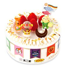 1000 images about anpanman cake on pinterest friends for Anpanman cake decoration