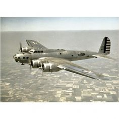 Boeing Collection Boeing B-17 Plane Mounted Print