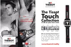 The Tissot Touch Collection