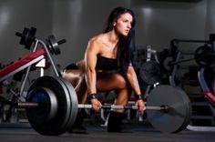Women Lifting.  CrossFit Girls