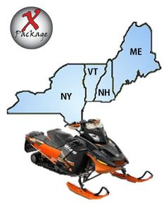 New England & NY Snowmobile GPS Trail Map