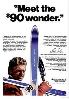 SKIING Dec 1970 - Northland - pugski.com Ski Racing, Ski Equipment, Ski Gear, Alpine Skiing, Vintage Ski, Lake George, Winter Activities, The Good Old Days, Origins