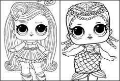 Desenhos para colorir da boneca LOL - Dicas Práticas Lol, Print Coloring Pages, Simple Drawings, Cool Drawings, Tips, Fun