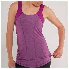 Lululemon Run For Your Life Tank Raspberry Size 6 ❌NO TRADES❌  - Lululemon Run For Your Life Tank Raspberry Size 6  - Raspberry Purple Pink Tank w/ Drawstring waist  - Built in Support Bra (no padding)  - Great used condition. lululemon athletica Tops Tank Tops